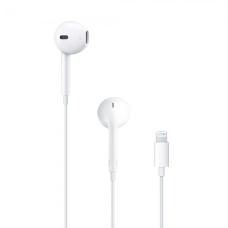 Наушники Apple EarPods с разъёмом Lightning (MMTN2)