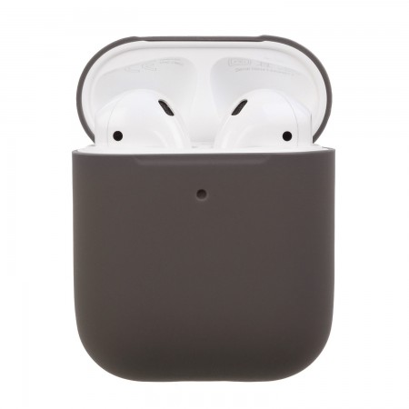 Airpods Silicone Case Ultra Slim (Chocolate)