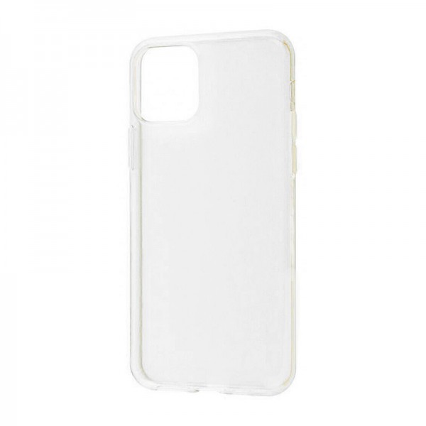 Силиконовая накладка Baseus Simple Case для iPhone 11 Pro (Прозрачный)