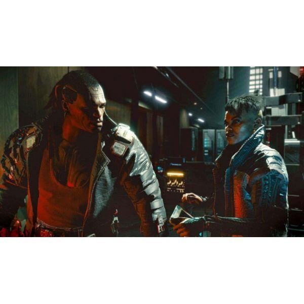 Диск Cyberpunk 2077 (Blu-ray, Russian version) (PS4)