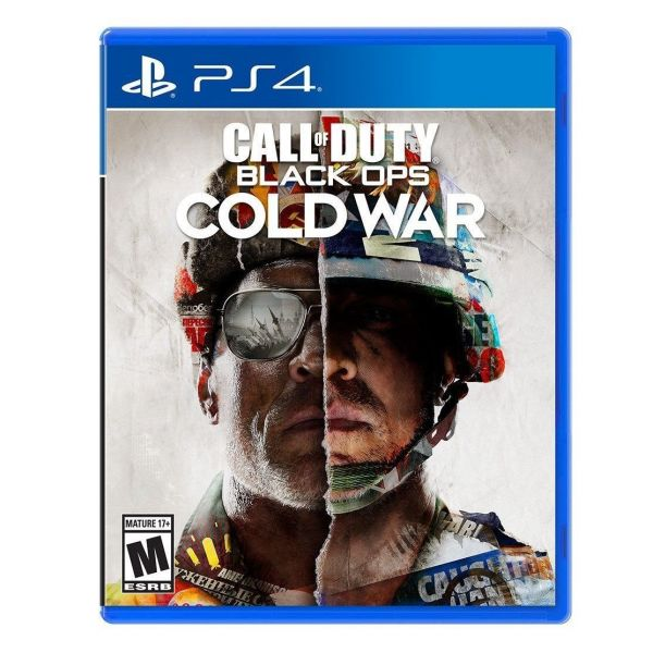 Диск Call of Duty: Black Ops Cold War (Blu-ray, Russian version) (PS4)