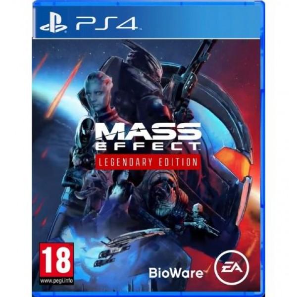 Диск Mass Effect Legendary Edition (русские субтитры) (PS4)