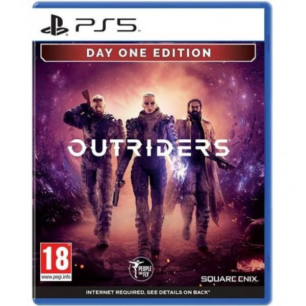 Диск Outriders (Русская версия) (PS5)