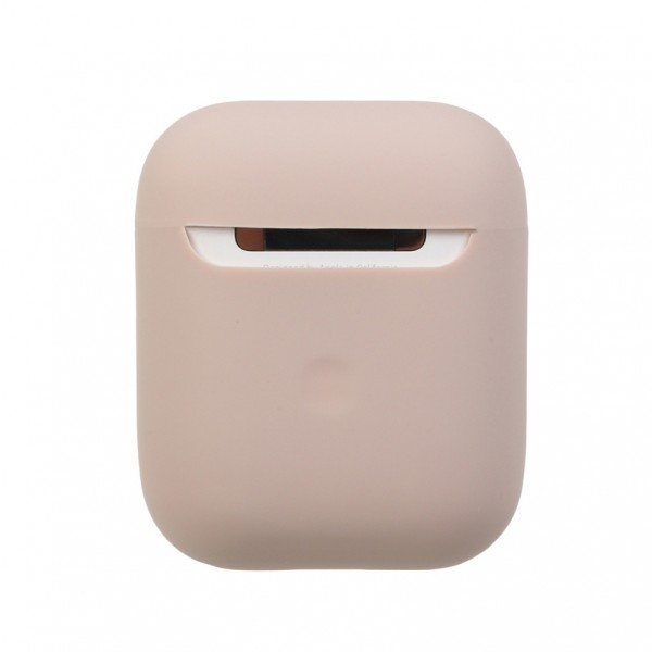 Airpods Silicone Case Ultra Slim (Pink Sand)