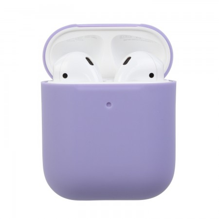 Airpods Silicone Case Ultra Slim (Light purple)