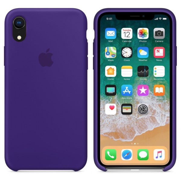 Silicone case на iPhone Xr Class 1 (Ultra Violet)