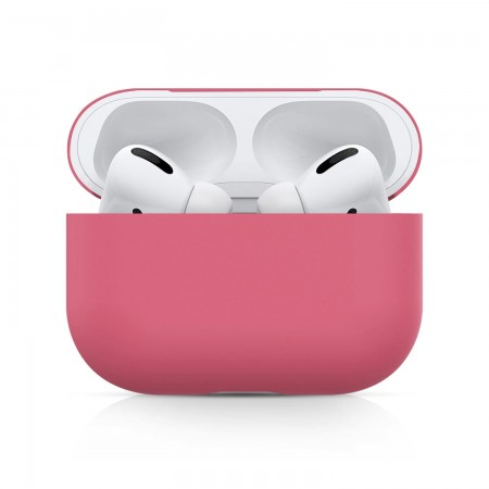 Airpods Pro Silicone Case Ultra Slim (Rose Red)