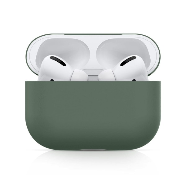 Airpods Pro Silicone Case Ultra Slim (Greyish Green)