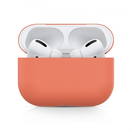 Airpods Pro Silicone Case Ultra Slim (Orange)