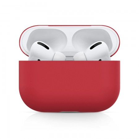 Airpods Pro Silicone Case Ultra Slim (Red)