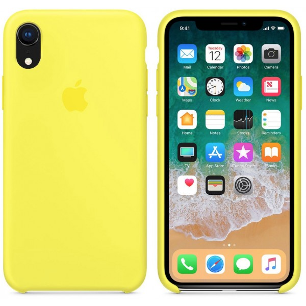 Silicone case на iPhone Xr Class 1 (Flash)