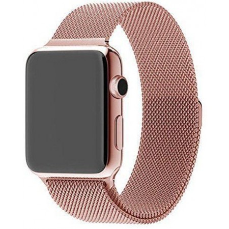 Ремешок Apple Watch Milanese Loop 42 mm/44 mm (Rose Gold)