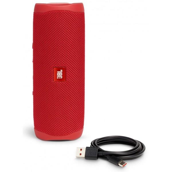 Беспроводная bluetooth колонка JBL Flip 5 (Red)