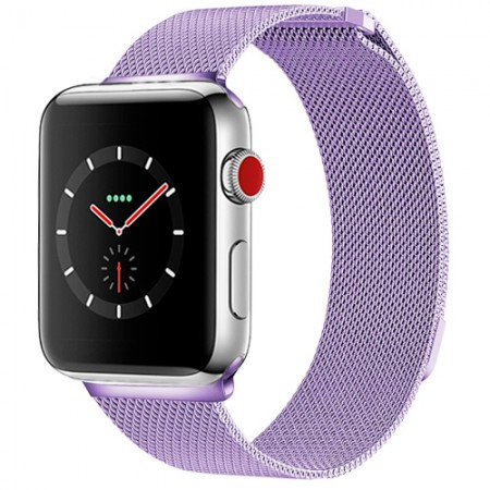 Ремешок Apple Watch Milanese Loop 38mm/40 mm (Light Purple)
