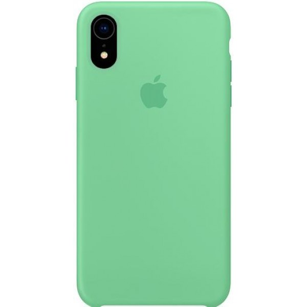 Silicone case на iPhone Xr (Spearmint)
