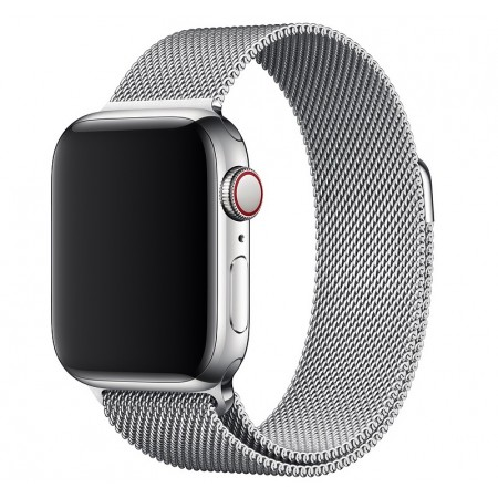 Ремешок Apple Watch Milanese Loop 38mm/40 mm (Silver)
