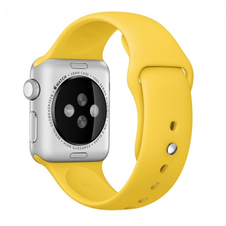 Apple Sport Band for Apple Watch 42mm/44mm (Yellow)