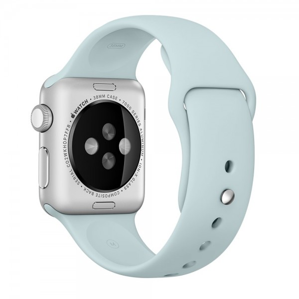 Apple Sport Band for Apple Watch 42mm/44mm (Light Blue/Turquoise)