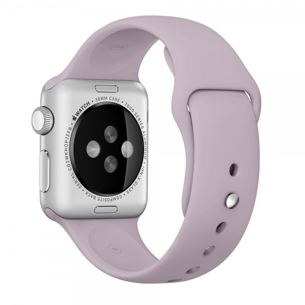 Apple Sport Band for Apple Watch 42mm/44mm (Lavender)