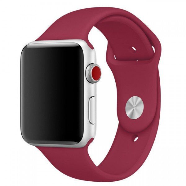 Apple Sport Band for Apple Watch 38mm/40mm (Rose Red)