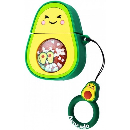 Airpods Cartoon Soft Case (Avocado New)
