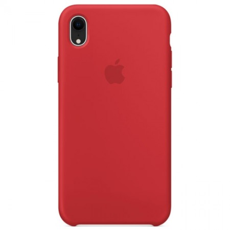 Silicone case на iPhone Xr (Red)