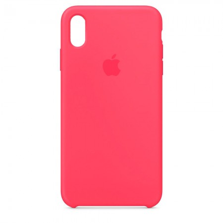 Silicone case на iPhone Xr (Hibiscus)