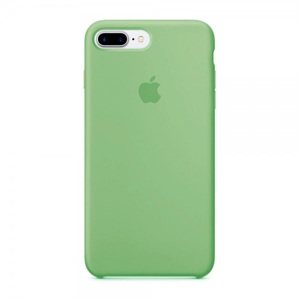 Silicone case на iPhone 7 Plus/8 Plus Class 1 (Mint gum)