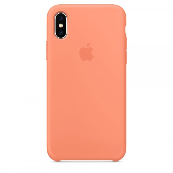 Silicone case на iPhone X/Xs Class 1 (Pearch)