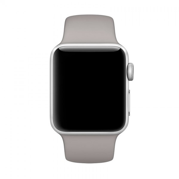 Apple Sport Band for Apple Watch 38mm/40mm (Light Grey)