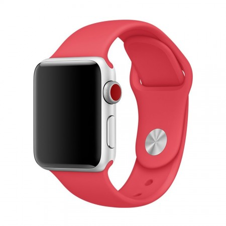 Apple Sport Band for Apple Watch 42mm/44mm (Raspberry Red)
