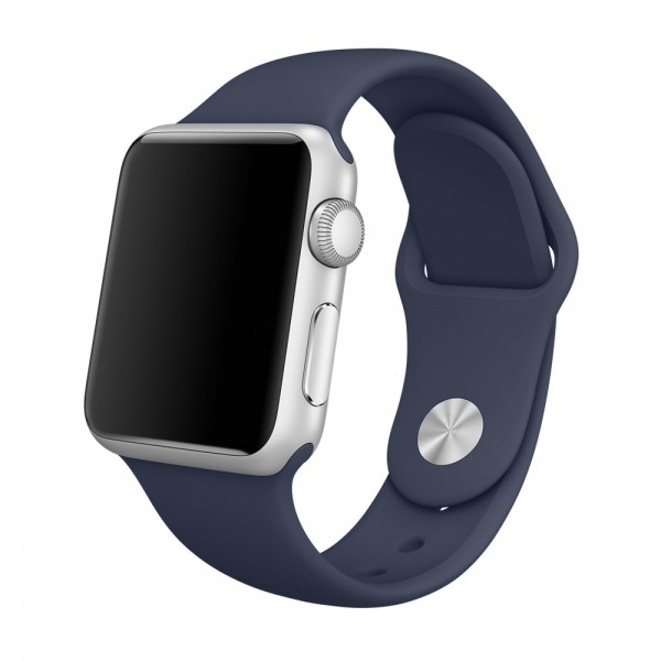 Apple Sport Band for Apple Watch 42mm/44mm (Midnight Blue)