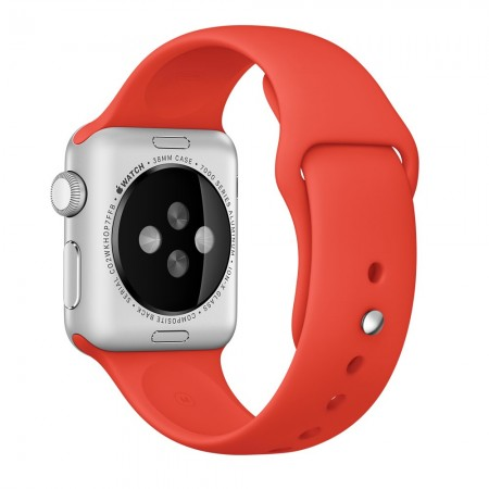 Apple Sport Band for Apple Watch 42mm/44mm (Orange)