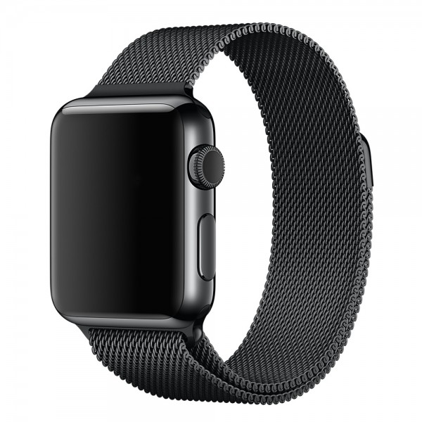 Ремешок Apple Watch Milanese Loop 38mm/40 mm (Black)