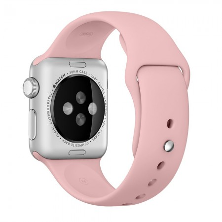 Apple Sport Band for Apple Watch 42mm/44mm (Pink/Vintage Rose)