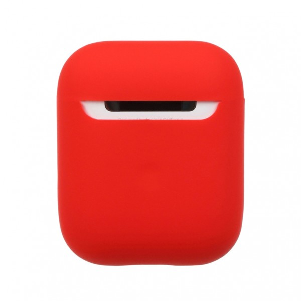 Airpods Silicone Case Ultra Slim (Red)