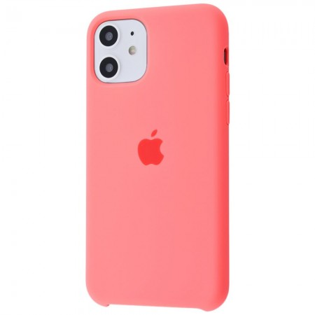 Silicone case на iPhone 11 Class 1 (Barbie pink)
