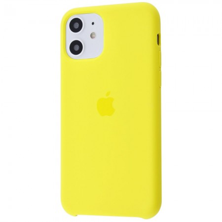 Silicone case на iPhone 11 Class 1 (Canary yellow)