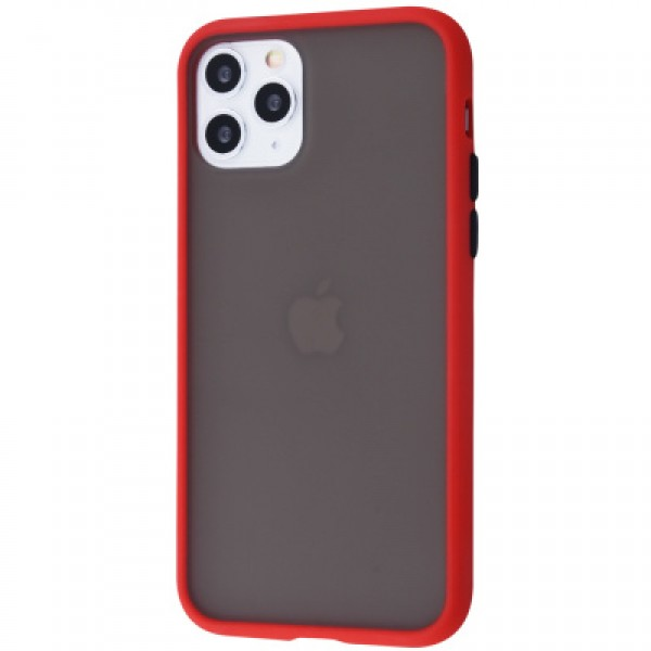 Накладка Goospery Peach garden на iPhone 11 Pro (Red/Black)