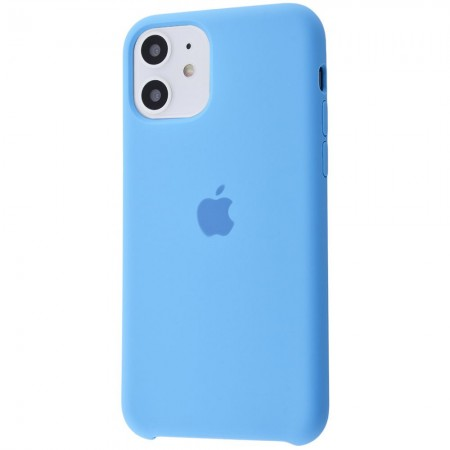 Silicone case на iPhone 11 Class 1 (Cornflower)