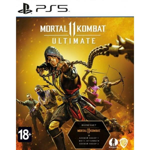Диск Mortal Kombat 11 Ultimate Edition (Русские субтитры) (PS5)
