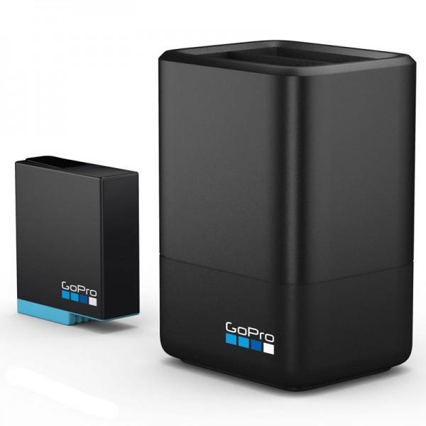 Зарядное устройство для двух аккумуляторных батарей HERO8 GoPro Dual Battery Charger+Battery