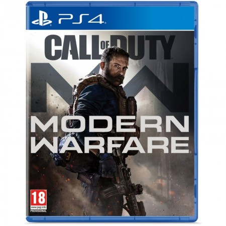 Диск Call of Duty: Modern Warfare (Русская версия) для PS4