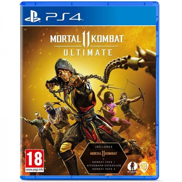 Диск Mortal Kombat 11 Ultimate Edition (PS4) (Blu-ray, Russian version)