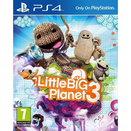 Диск Little big Planet 3 (Blu-ray, Russian version) для PS4