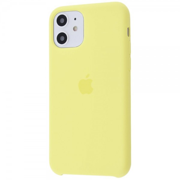 Silicone case на iPhone 11 Class 1 (Mellow yellow)