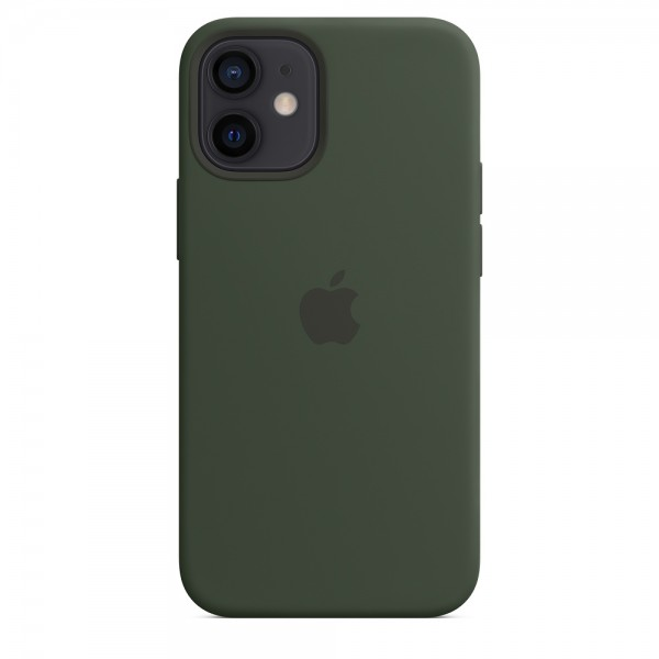 Silicone case на iPhone 12 mini (Cyprus green)