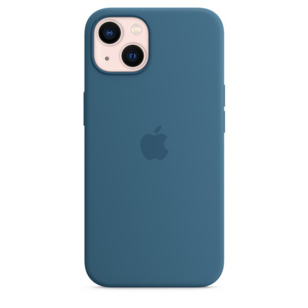 Silicone case на iPhone 13 (Blue Jay)