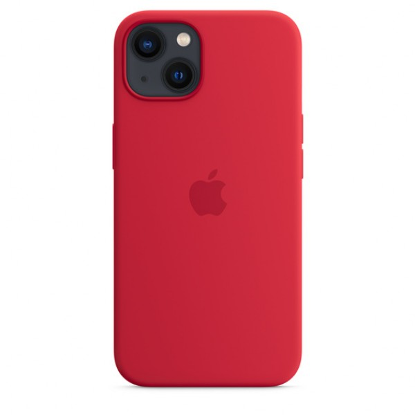 Silicone case на iPhone 13 (PRODUCT)RED