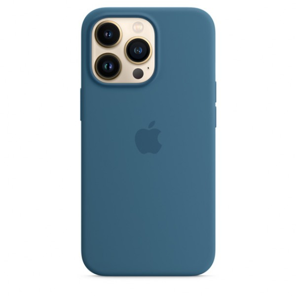Silicone case на iPhone 13 Pro Max (Blue Jay)